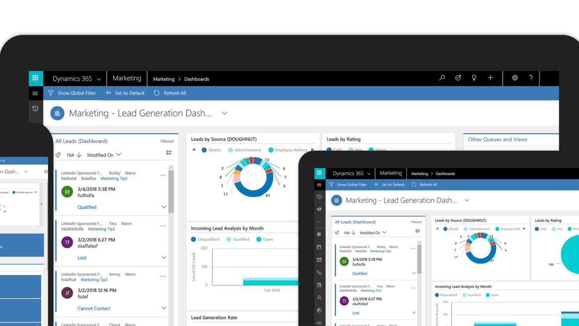 Dynamics 365 for sales marketing